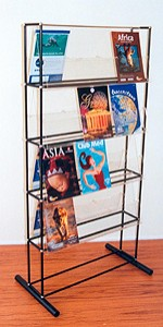Free Standing Double Sided Brochure Display