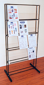 Free Standing Single Sided Brochure Display